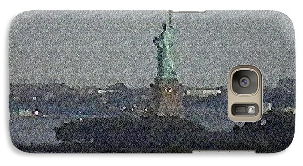 Galaxy Case featuring the digital art #49 Sands Of Time by Kosior