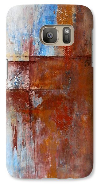 Galaxy Case featuring the painting 519 by Buck Buchheister