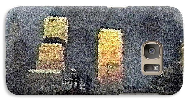 Galaxy Case featuring the digital art #50 Sands Of Time by Kosior