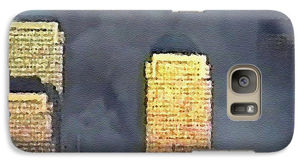Galaxy Case featuring the digital art #52 Sands Of Time by Kosior
