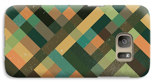 Pixel Art Galaxy S7 Case by Mike Taylor