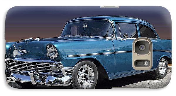 Galaxy Case featuring the photograph 56 Chevy by Robert Meanor