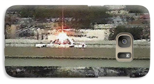 Galaxy Case featuring the digital art #54 Sands Of Time by Kosior