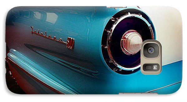 Vintage Car Galaxy Case featuring the photograph '57 Fairlane 500 by Aaron Berg