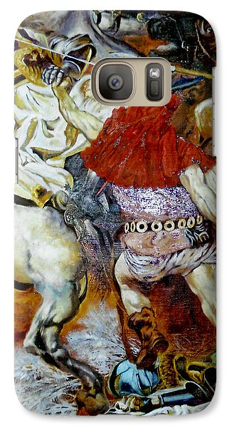 Galaxy Case featuring the painting Battle Of Grunwald by Henryk Gorecki