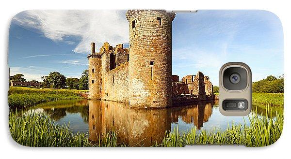 Castle Galaxy S7 Case - Caerlaverock Castle by Grant Glendinning