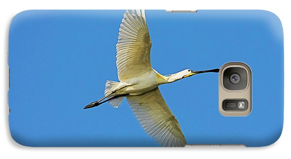 Spoonbill Galaxy S7 Case - Eurasian Spoonbill Or Common Spoonbill by Martin Zwick