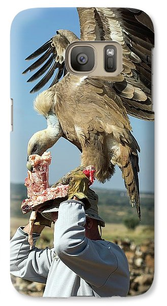 Griffon Galaxy S7 Case - Griffon Vulture Conservation by Nicolas Reusens