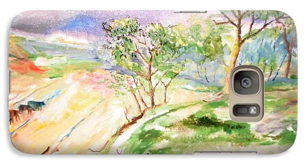Galaxy Case featuring the painting Landscape by Egidio Graziani
