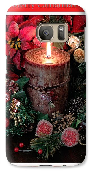 Galaxy Case featuring the photograph Merry Christmas by Ivete Basso Photography