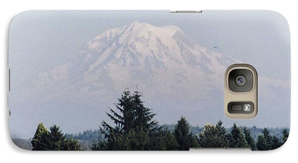 Galaxy Case featuring the photograph Mount Rainier  by Myrna Walsh