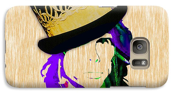 Steven Tyler Collection Galaxy Case by Marvin Blaine