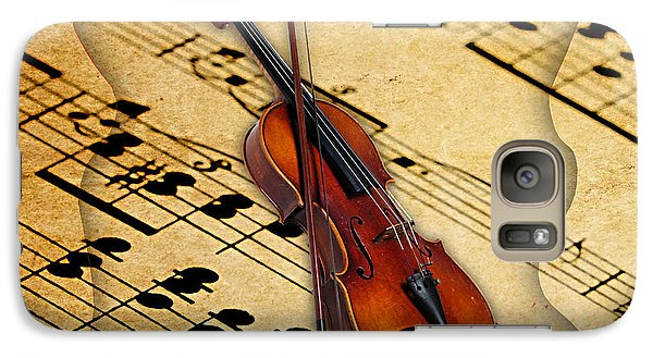 Violin Galaxy S7 Case - Violin Collection by Marvin Blaine