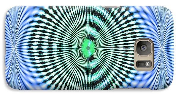 Galaxy Case featuring the digital art 60s Time by Aliceann Carlton