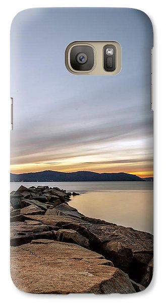 Galaxy Case featuring the photograph 60secs Of Light by Anthony Fields