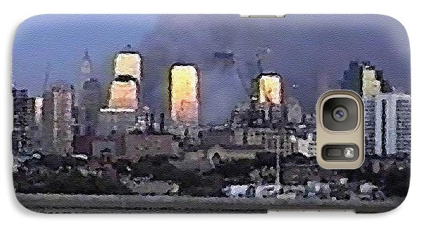 Galaxy Case featuring the digital art #60 Sands Of Time by Kosior