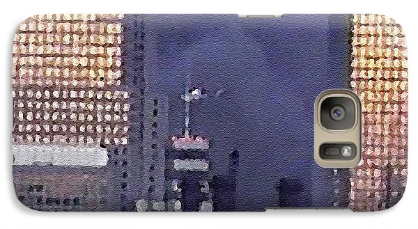 Galaxy Case featuring the digital art #61 Sands Of Time by Kosior