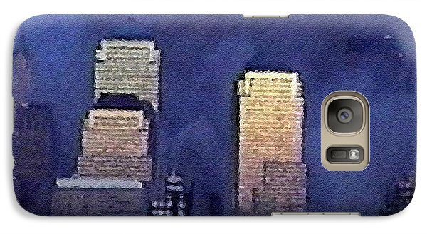 Galaxy Case featuring the digital art #62 Sands Of Time by Kosior