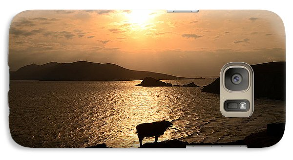 Galaxy Case featuring the photograph Blasket Islands by Barbara Walsh