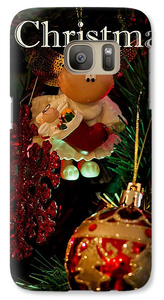 Galaxy Case featuring the photograph Christmas by Ivete Basso Photography