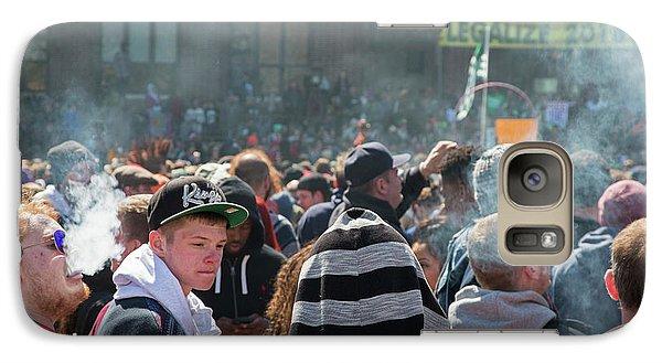 Legalisation Of Marijuana Rally Galaxy S7 Case