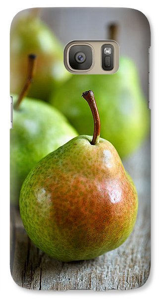 Pears Galaxy S7 Case by Nailia Schwarz