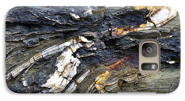 Galaxy Case featuring the photograph Rock Art by Shirley Mitchell