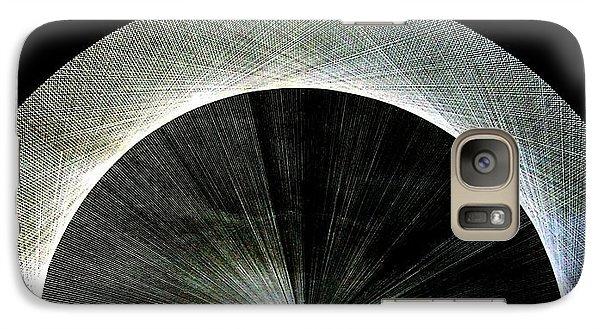 Galaxy Case featuring the drawing 720 Pi Half Rainbow by Jason Padgett