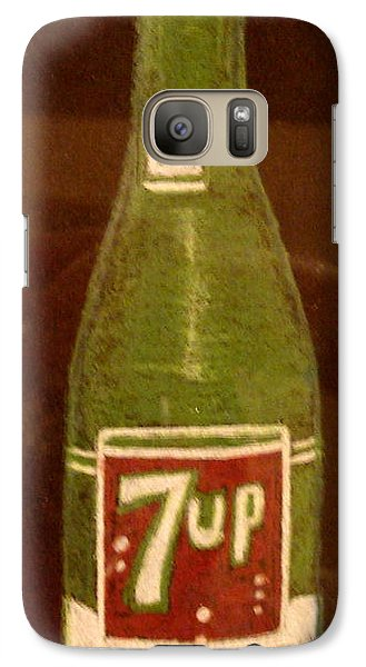 Galaxy Case featuring the pastel 7up Bottle by Joseph Hawkins