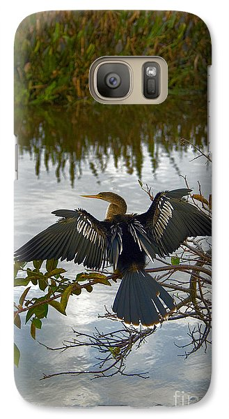 Anhinga Galaxy Case by Mark Newman