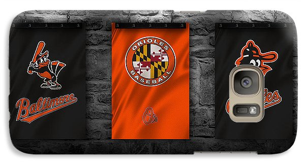 Oriole Galaxy S7 Case - Baltimore Orioles by Joe Hamilton