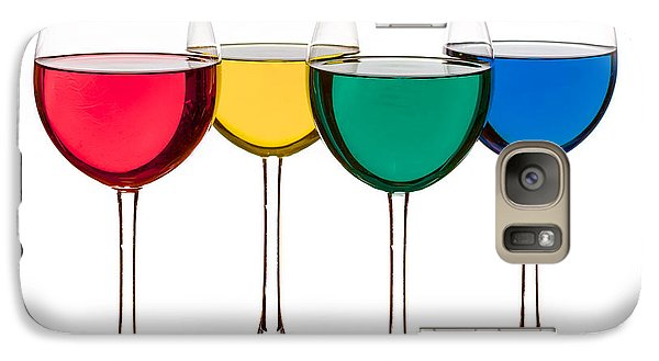 Colorful Drinks Galaxy S7 Case