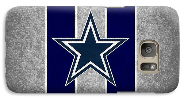 Dallas Cowboys Galaxy S7 Case by Joe Hamilton