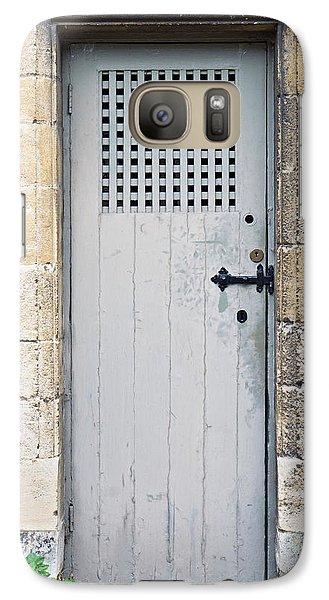 Dungeon Galaxy S7 Case - Old Door by Tom Gowanlock