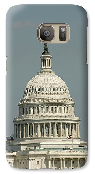 Capitol Building Galaxy S7 Case - Washington Dc, Usa by Lee Foster