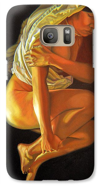 Galaxy Case featuring the painting 9 30 Am by Thu Nguyen