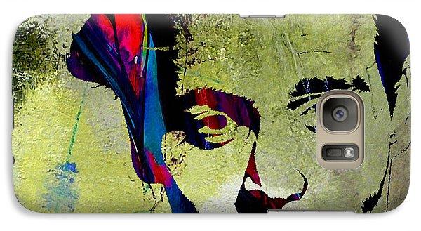 Johnny Depp Galaxy Case by Marvin Blaine