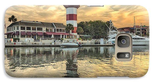 Lighthouse On Hilton Head Island Galaxy S7 Case