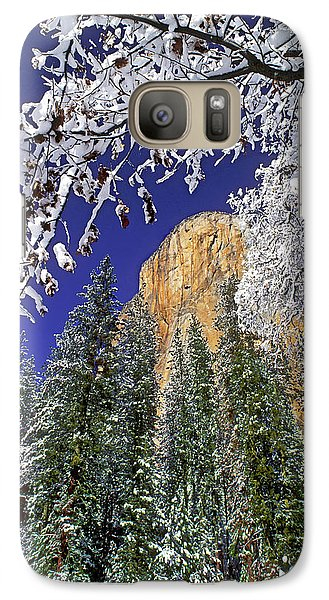 Usa, California, Yosemite National Park Galaxy S7 Case by Jaynes Gallery