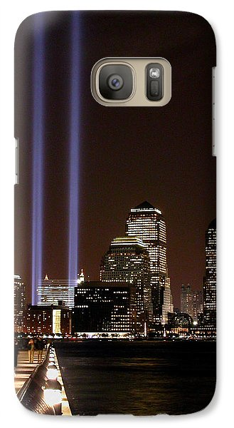 Galaxy Case featuring the photograph 911 Anniversary by Gary Slawsky