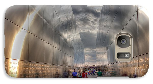 Galaxy Case featuring the photograph 911 Halo by David Bishop