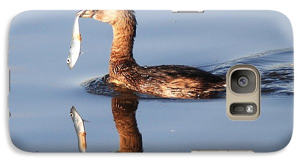 Galaxy Case featuring the photograph A Bad Reflection by Kathy Gibbons