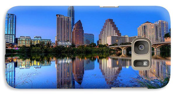 Galaxy Case featuring the photograph A Beautiful Austin Evening by Dave Files