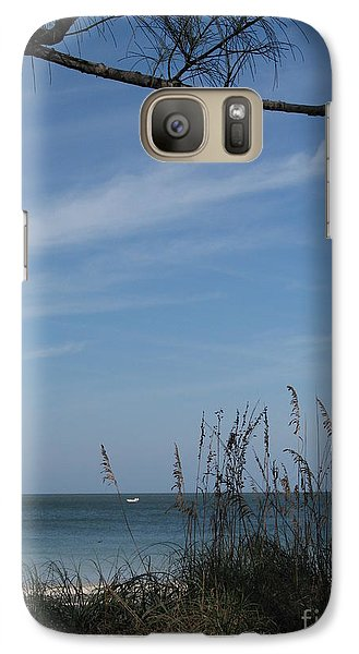 Galaxy Case featuring the photograph A Beautiful Day At A Florida Beach by Christiane Schulze Art And Photography