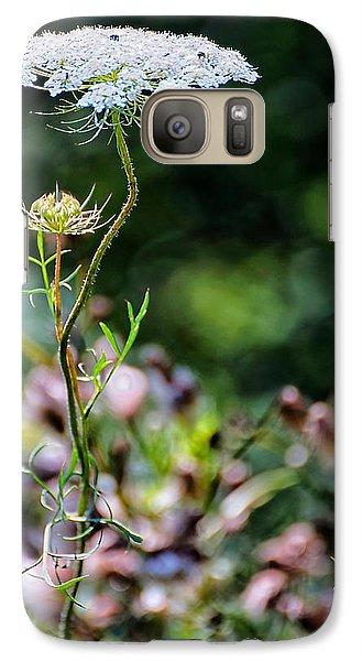 Galaxy Case featuring the photograph A Bit Crooked by Beth Akerman