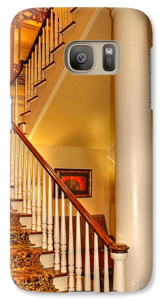 Galaxy Case featuring the photograph A Bit Of Southern Style by Kathy Baccari