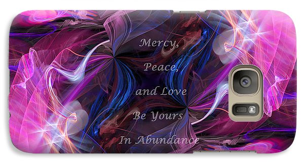 Galaxy Case featuring the digital art A Blessing by Margie Chapman