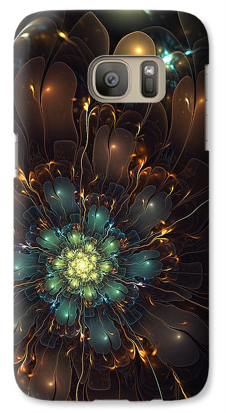 Galaxy Case featuring the digital art A Bloom For May by Kim Redd