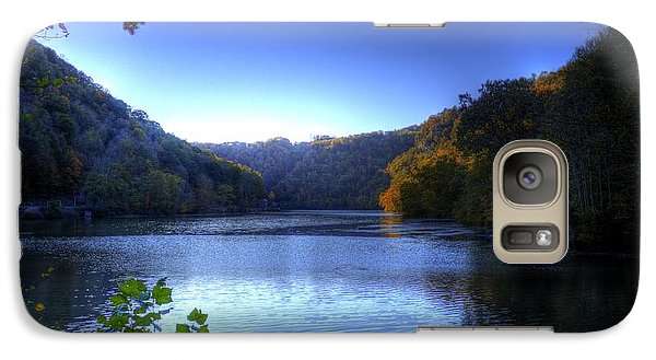 Galaxy S7 Case featuring the photograph A Blue Lake In The Woods by Jonny D