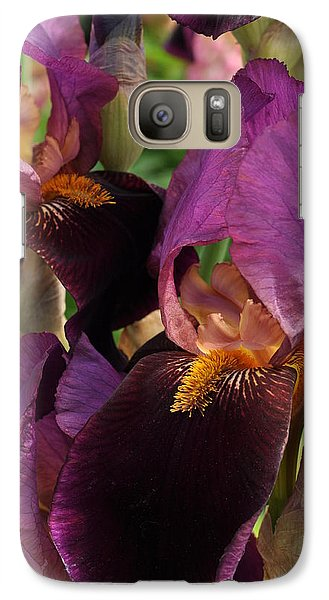 Galaxy Case featuring the photograph A Bouquet Of Lilies by Sabine Edrissi